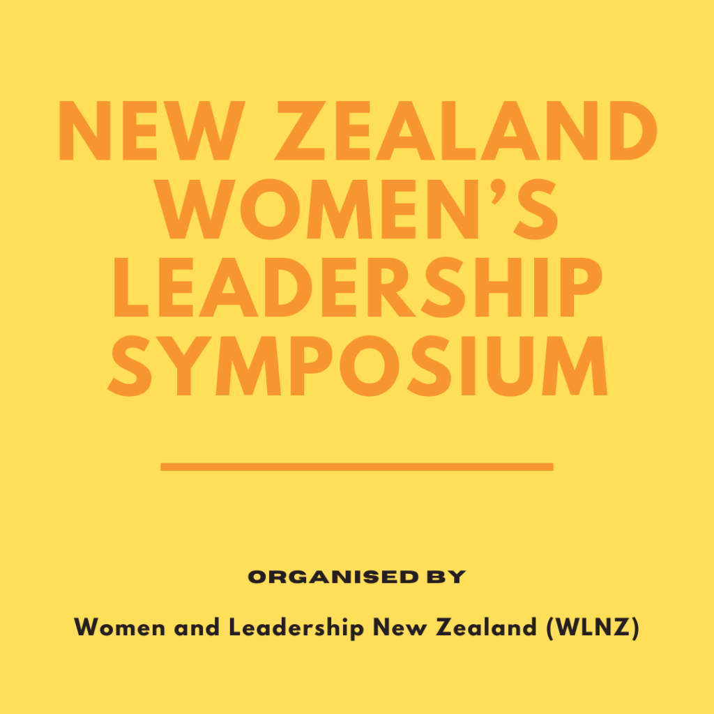 New Zealand Women's Leadership Symposium