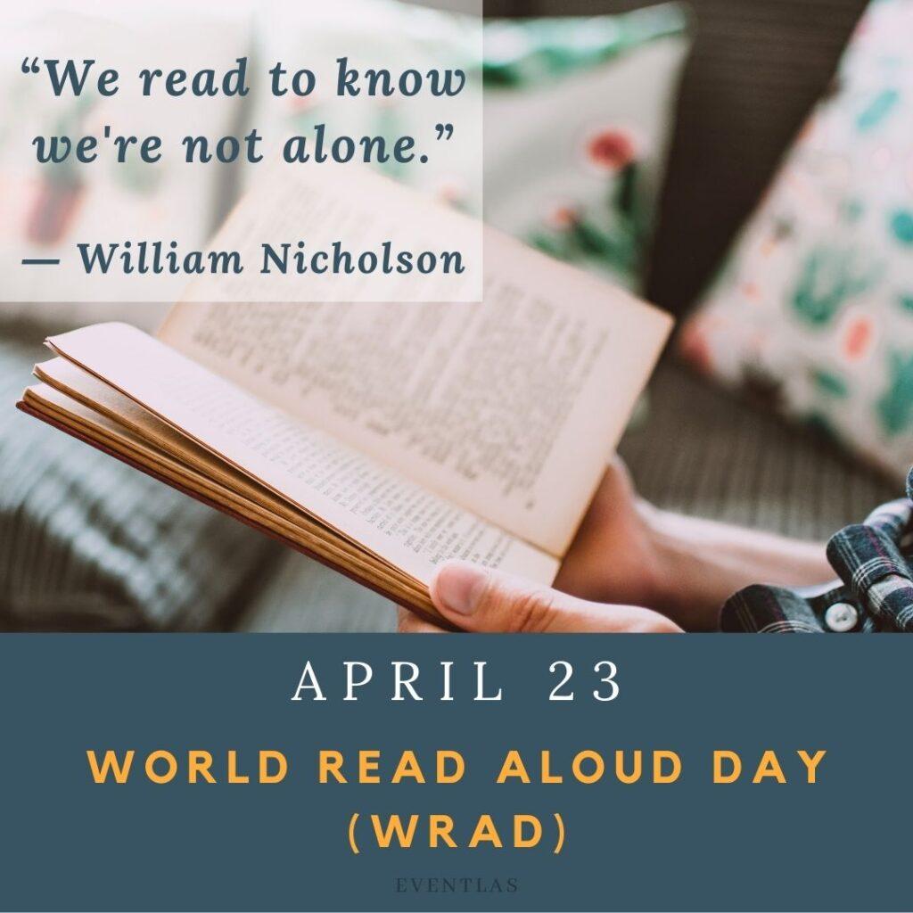 World Read Aloud Day (WRAD)