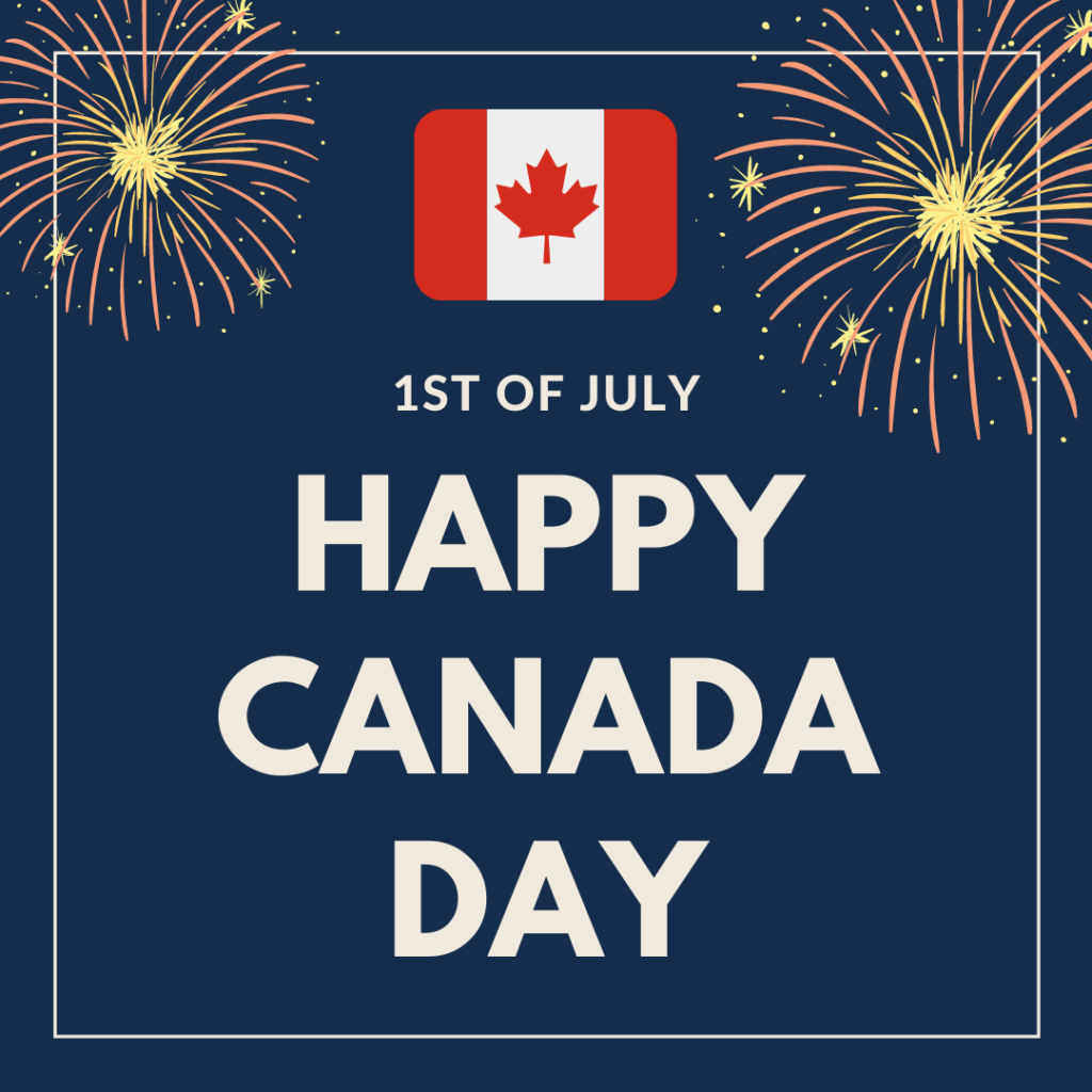 Canada Day 1st of July