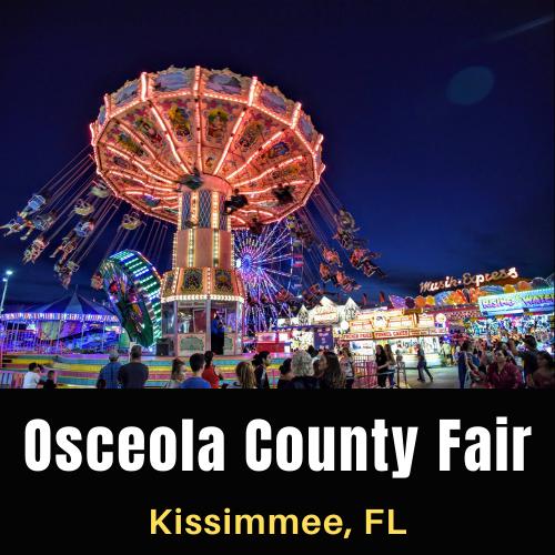 Osceola County Fair at Kissimmee, Florida