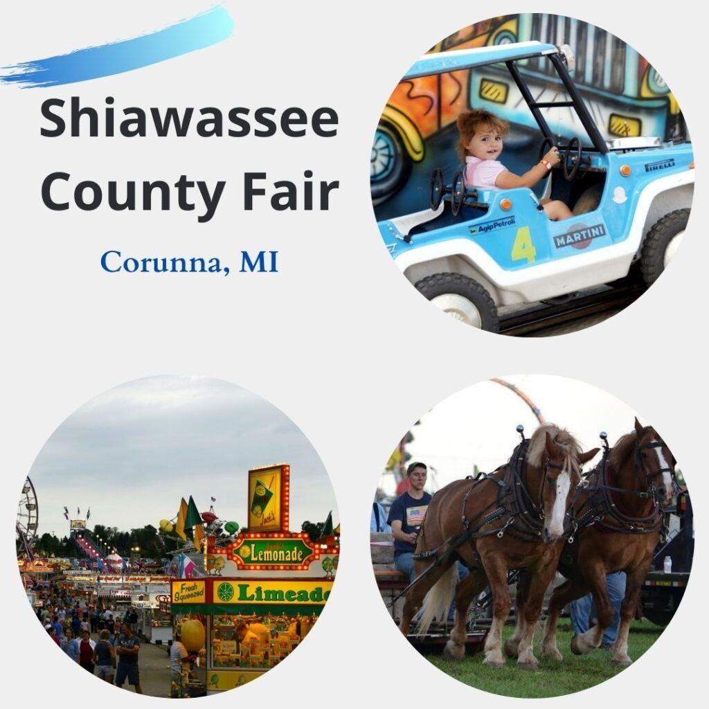Shiawassee County Fair in Corunna, MI