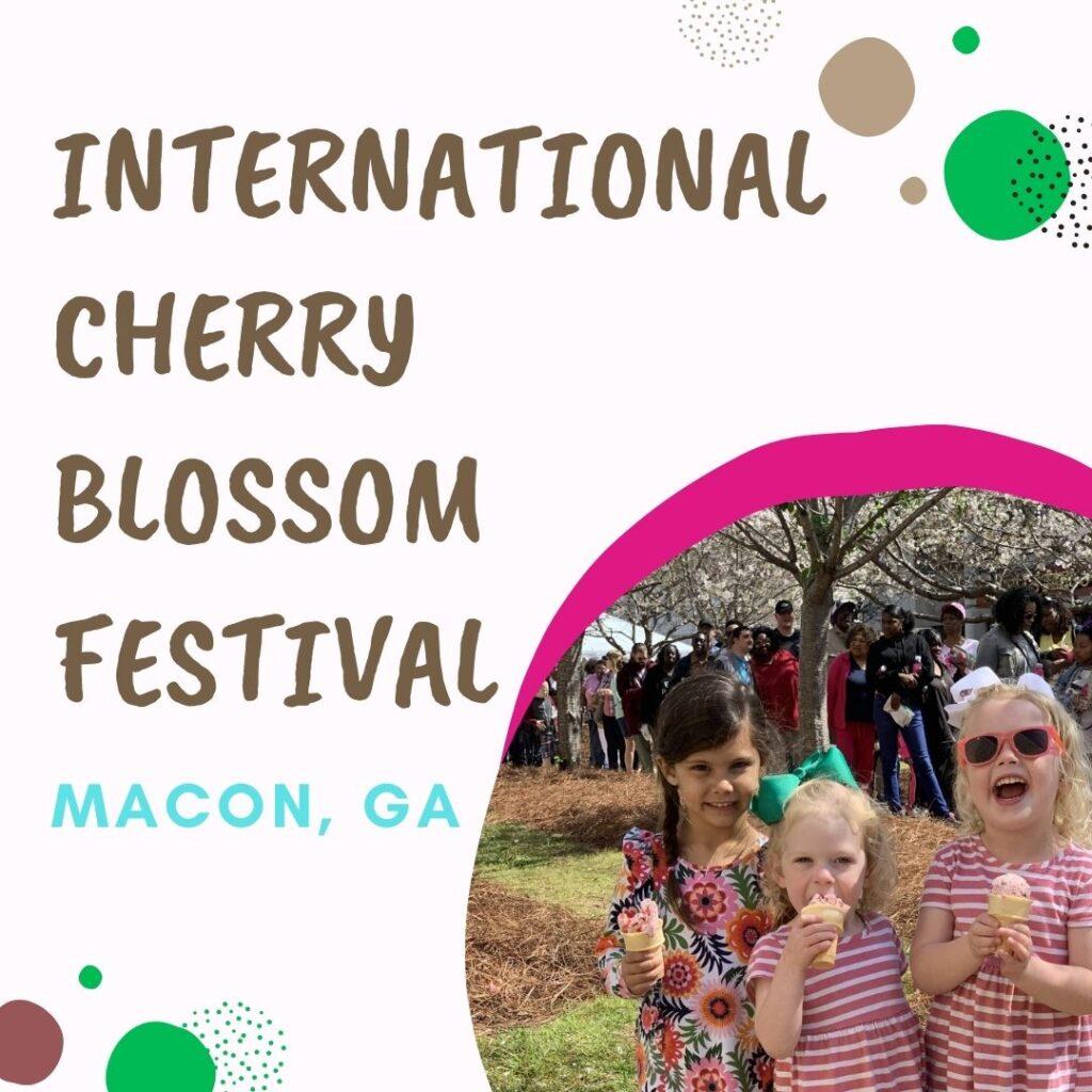 International Cherry Blossom Festival Macon GA